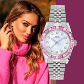 Ultimo arrivo e già best seller! Capital Collezione New York.  #orologio #pink #pinklady #SS21 #novità #orologiodonna #watchmania #watchaddict