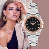 Il classico moderno per ogni occasione!  #watch #watchoftheday #glamourstyle #watchesforher  Collezione Toujours  Modello AX572